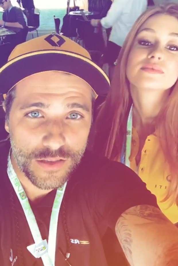 Bruno Gagliasso e Marina Ruy Barbosa (Foto: Reprodução/Instagram)