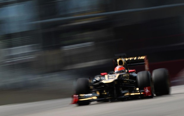 F1 Romain Grosjean, da Lotus (Foto: Getty Images)