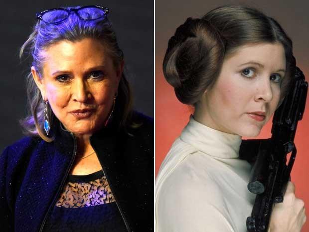 Carrie fisher, a princesa Leia de Star Wars (Foto: Divulgação)