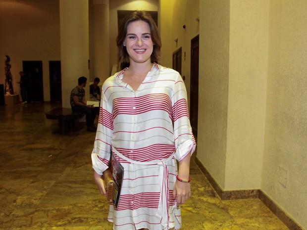 Alessandra Maestrini em estreia de peça em São Paulo (Foto: Manuela Scarpa e Marcos Ribas/ Brazil News)