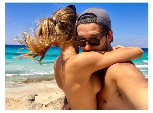 Sérgio Marone e a namorada, Barabara Romer (Foto: Reprodução/Instagram)