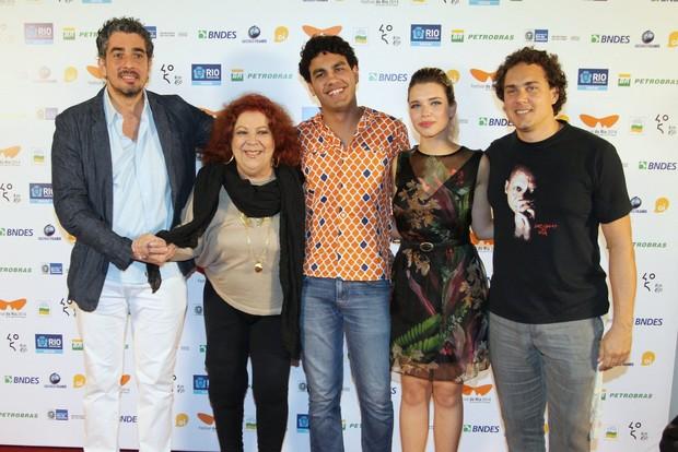 """Pré-estreia do filme """"O Samba"""" (Foto: Anderson Borde/Felipe Assumpção/AgNews)"""
