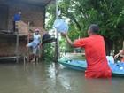 No AP, Exército e Bombeiros auxiliam vítimas de enchente em Calçoene