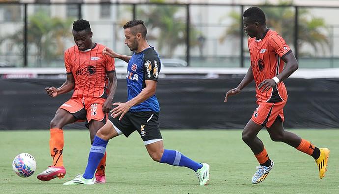 jogo treino, Angola x Vasco (Foto: Marcelo Sadio / Flickr do Vasco)