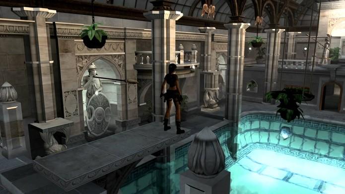 Não, Lara nunca ficou nua em Tomb Raider (Foto: Reprodução/Felipe Vinha)