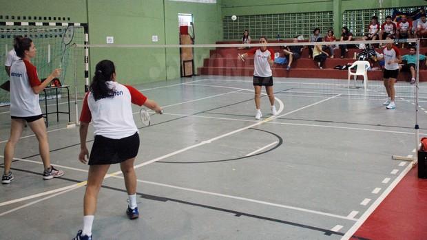 Badminton, Federação de Badminton, Paraíba, João Pessoa, IFPB (Foto: Richardson Gray / Globoesporte.com/pb)