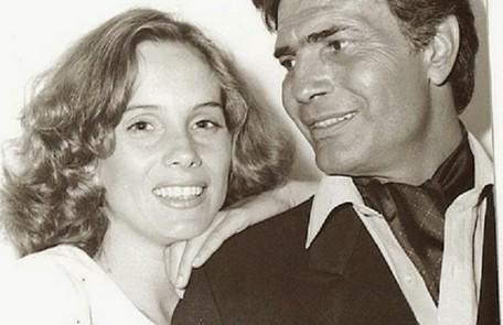 Com Tarcísio Meira, com quem contracenou no filme Eu (1987) Reprodução