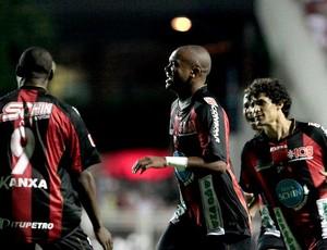 Anderson Salles comemora gol do Ituano contra o São Paulo (Foto: Divulgação/Ituano)