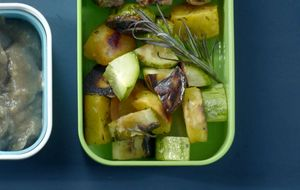 Legumes variados ao forno