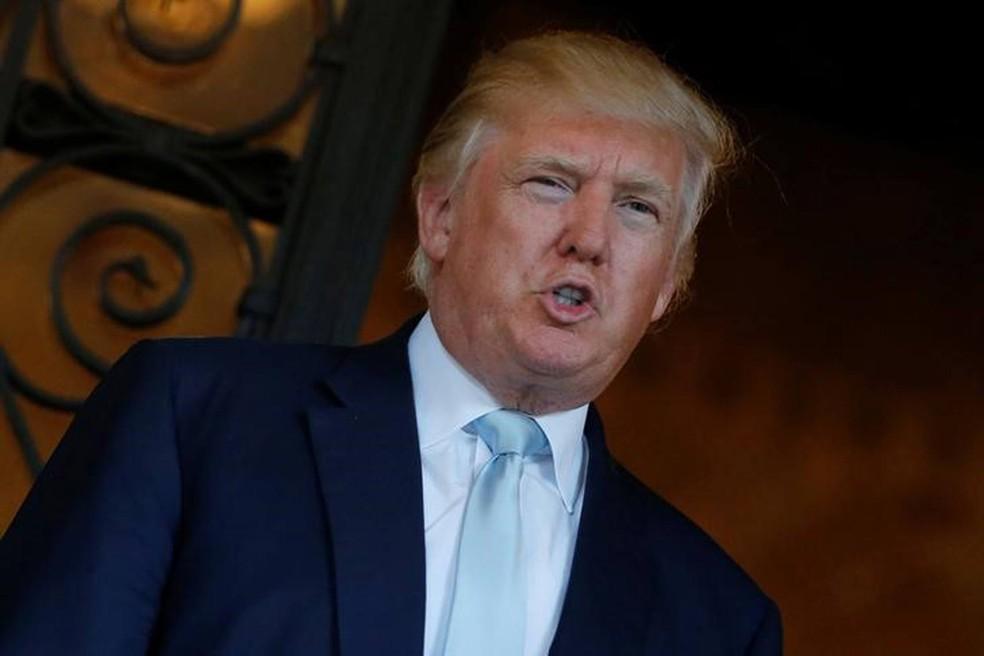 Donald Trump vai participar nesta quarta-feira, em Nova York, pela primeira vez desde a sua eleição em 8 de novembro, de uma coletiva de imprensa (Foto: Jonathan Ernst/Reuters)