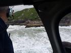 Jovem ignora alerta de guarda-vidas e desaparece no mar em Florianópolis