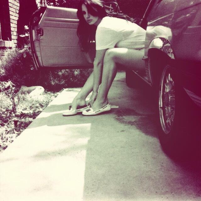 Lana Del Rey em imagem de divulgao do novo disco,