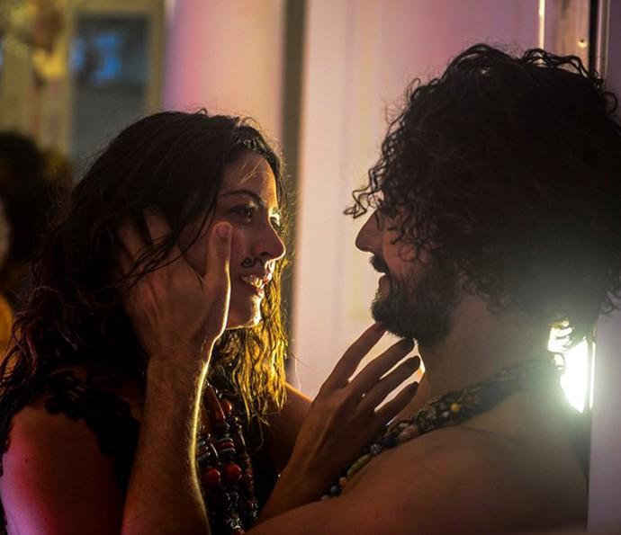 Iolanda e Afrânio viveram momentos intensos e cheios de paixão antes de se separarem (Foto: Renato Rocha Miranda/ Globo)