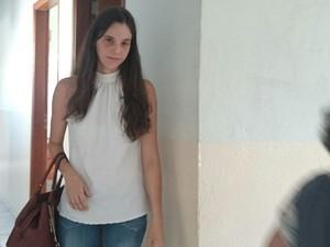 Natália ainda está muito abalada com o caso (Foto: Marcos Lavezo/G1)