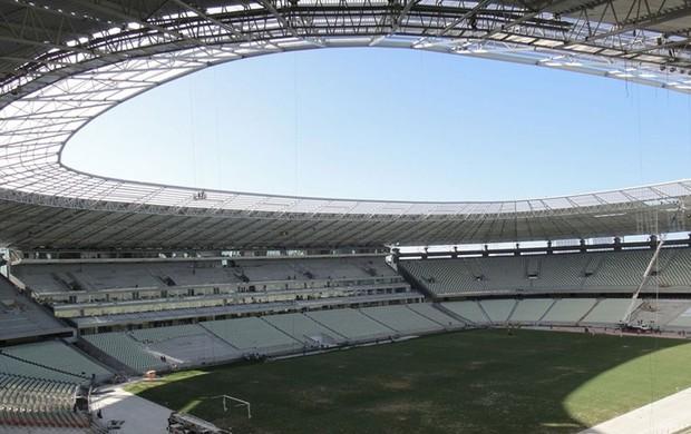 obras estádio Castelão Copa 2014 Fifa (Foto: Divulgação / FIFA.com)