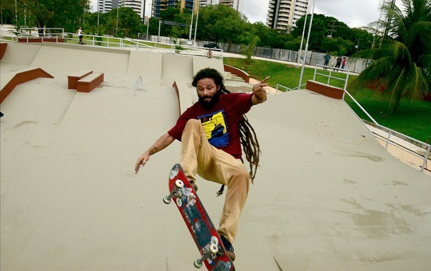 Brasileiro de skate pro em Manaus - Vitor Sagaz (Foto: Mauro Neto/Semjel)