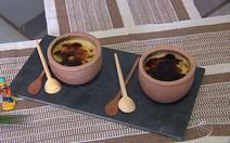 Receita de creme brûlée com mangaba
