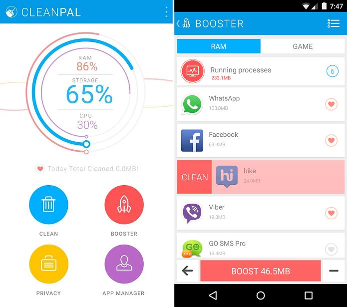 Clean Pal é um app para limpar arquivos indesejados no Android (Foto: Divulgação)
