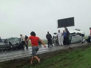 Uma pessoa morreu e ao menos três ficaram feridas (Foto: Rafael Souto/Divulgação)
