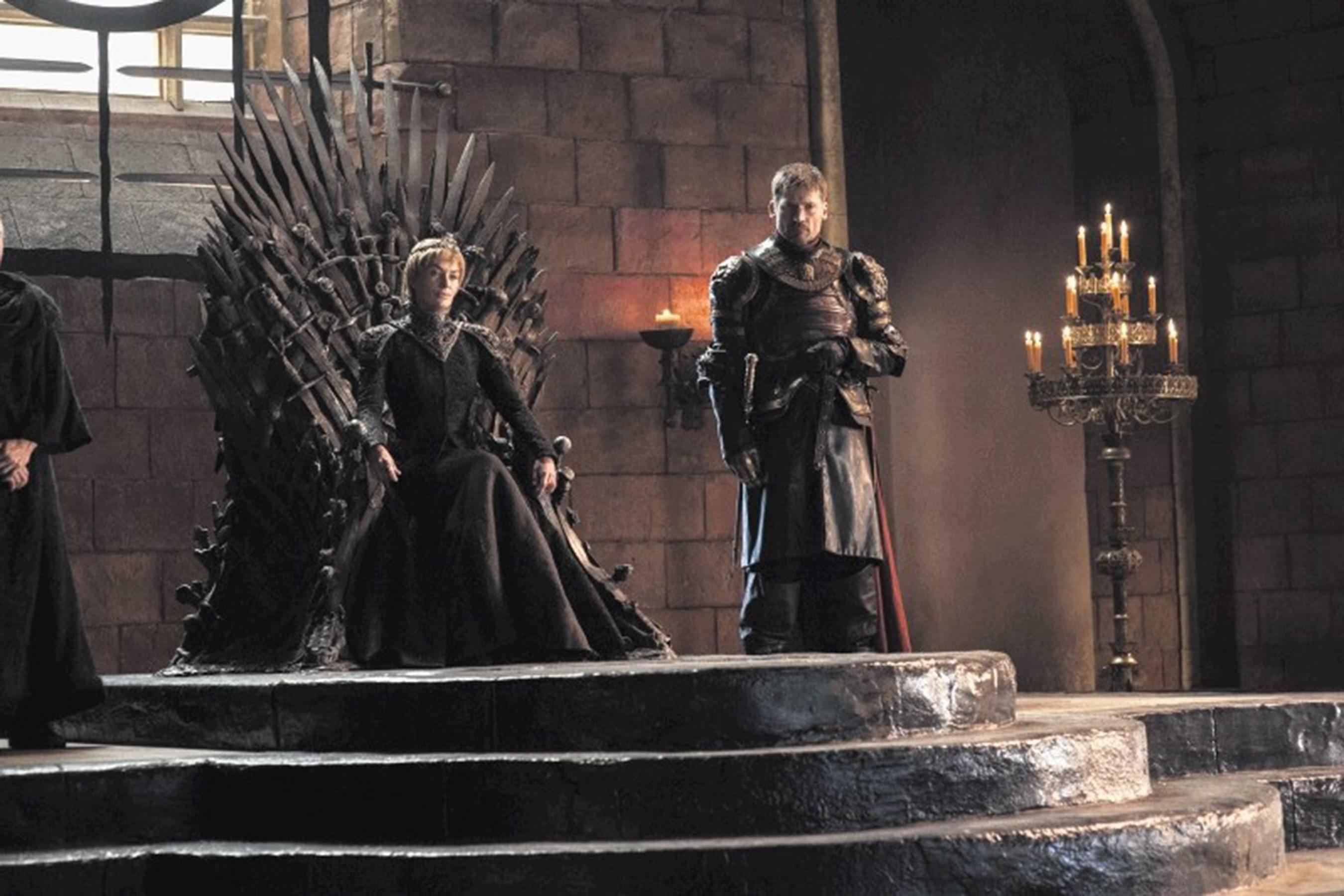 Cerse Baratheon e Jaime Lannister (Foto: HBO)