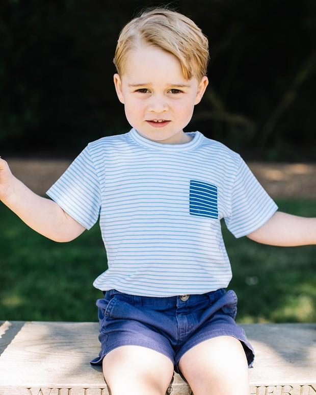 Príncipe George (Foto: Matt Porteous/ Kensington Palace/ Reprodução/ Instagram)