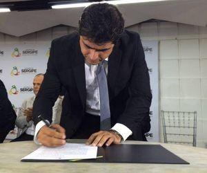 João Batista secretário de Segurança Pública de Sergipe (Foto: Tasssio Andrade/G1)