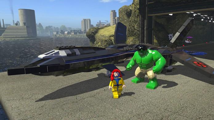 Compre novos personagens e veículos para explorar Nova York em LEGO Marvel Super Heroes (Foto: gameinformer.com)