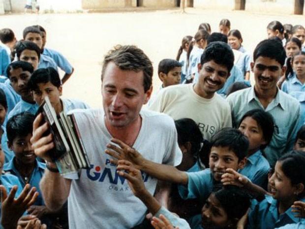 'Room to Read' já construiu 17,5 mil bibliotecas infantis em países pobres  (Foto: Room to Read)