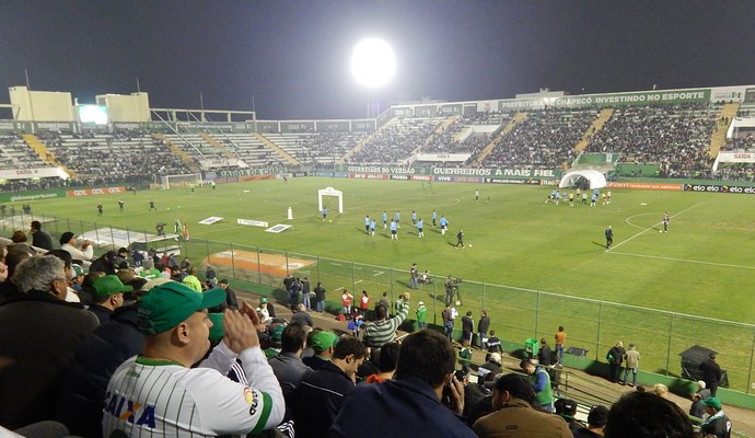 Arena Condá Chapecoense x Grêmio (Foto: Laion Espíndula)