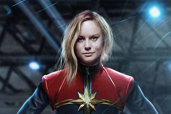 Bire Larson apresenta a versão cinematográfica de Carol Danvers, a Capitã Marvel (Foto: Reprodução/montagem) (Foto: Reprodução/montagem)