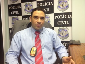 delegado da DECCP, Paulo Reyner (Foto: Dyepeson Martins)