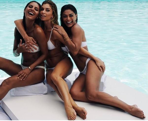 Emanuela de Paula, Grazi Massafera e Juliana Paes (Foto: Reprodução / Instagram)