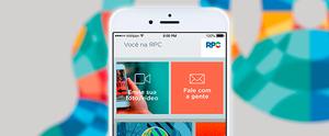 Baixe agora o aplicativo da RPC, confira nossas novidades e participe com a gente (Arte / RPC)