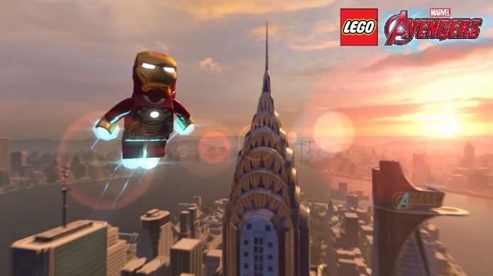 LEGO Marvel's Avengers convida jogadores a mais uma vez defenderem Manhattan dos super-vilões no papel dos Vingadores (Foto: Reprodução/Metro)