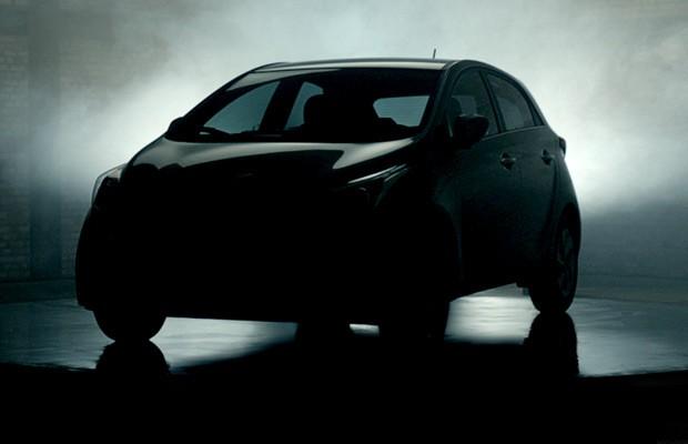 Teaser-do-novo-Hyundai-HB20 (Foto: Divulgação)