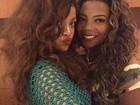 Ludmilla tieta Rihanna: 'Jantamos juntas, foi uma sensação incrível'
