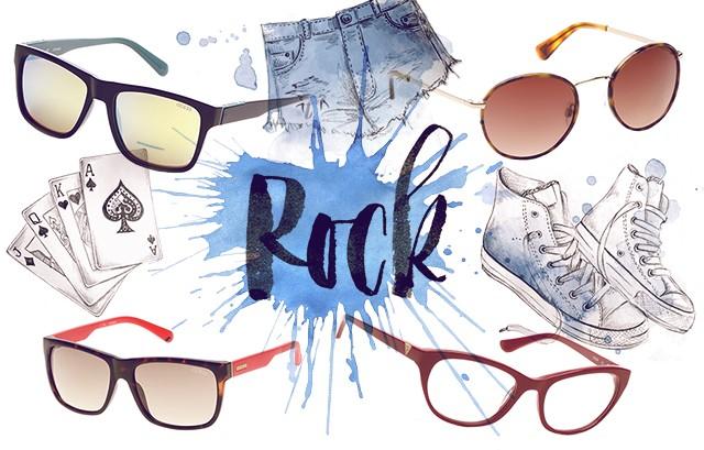 Promoglamour Guess Rock (Foto: Fotos: Divulgação; Ilustração: Camila Gray)