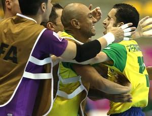 Futsal fernandinho brasil e panamá (Foto: Agência Getty Images)