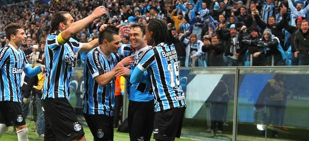 kleber arena gladiador grêmio (Foto: Lucas Uebel/Grêmio FBPA)