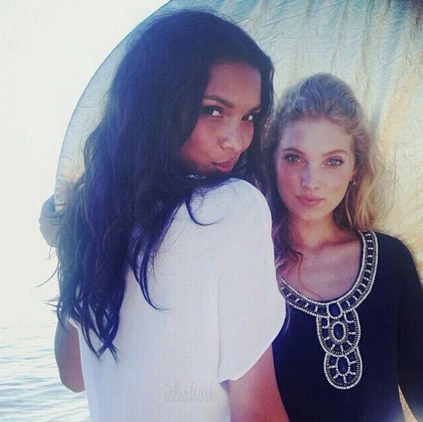 Laís Ribeiro e Elsa Hosk (Foto: Reprodução do Instagram)
