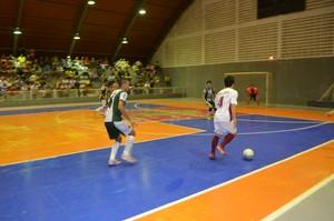 semifinal; Copa Rede Amazônica de Futsal; Amapá (Foto: Jonhwene Silva/GE-AP)