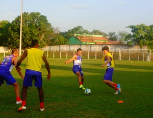 Elenco do time é formado por ex-jogadores do Gurupi e jovens do sub-19 (Foto: Vilma Nascimento/GLOBOESPORTE.COM)