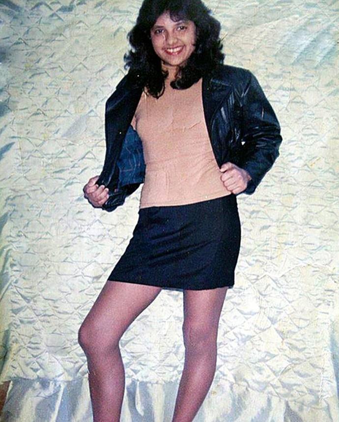 Marinalva aos 12 anos de idade (Foto: Arquivo Pessoal)