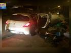 Trio rouba lanchonete, pizzaria e carro em frente a delegacia em Canoas, RS