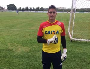 Renan Rocha - goleiro do América-RN (Foto: Klênyo Galvão/GloboEsporte.com)
