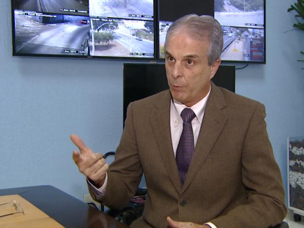 Secretário de transportes de Campinas, Carlos José Barreiro (Foto: Reprodução/ EPTV)