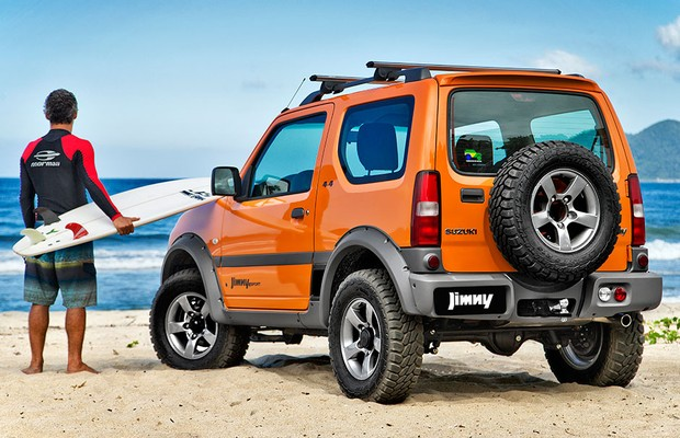 suzuki renova jimny 4sport 2015 auto esporte not cias. Black Bedroom Furniture Sets. Home Design Ideas