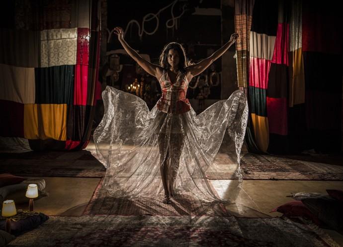 Lucy Alves - Camarim Gshow (Foto: Inácio Moraes/ Gshow)