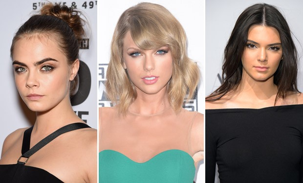 Cara Delevingne, Taylor Swift e Kendall Jenner so as queridinhas para o prximo ano (Foto: Getty Images)