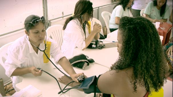 Estação Saúde, em Cariacica (Foto: Divulgação/ TV Gazeta)